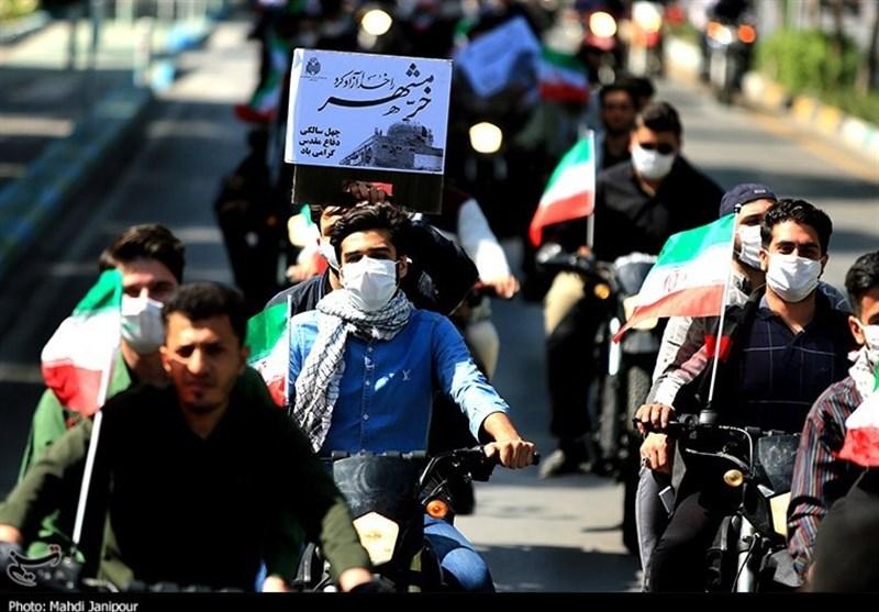 سالگرد آزادسازی خرمشهر در گلستان شهدای اصفهان به روایت تصاویر