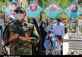 بزرگداشت فتح خرمشهر در مزار سیدالشهدای جبهه مقاومت به روایت تصویر