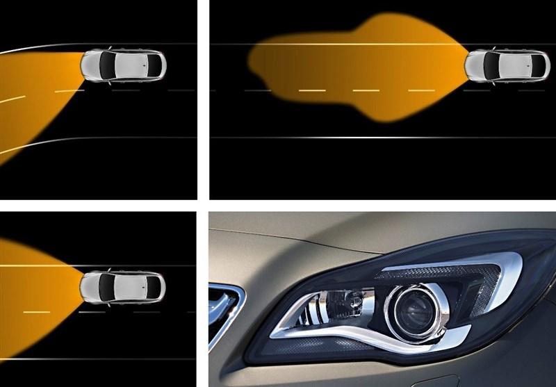 آپشنهای فنی خودرو| چراغهای تطبیق شونده با مسیر چیست؟