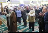اقامه نماز عید فطر در مرکز گیلان به روایت تصویر