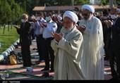 اقامه نماز عید سعید فطر در بجنورد بهروایت تصاویر