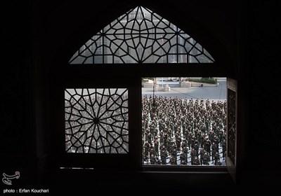 Iranians Attend Eid al-Fitr Prayers across Iran