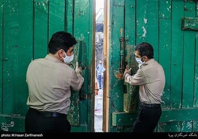 بازگشایی صحنهای حرم مطهر حضرت عبدالعظیم(ع)