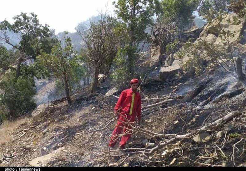 مدیرکل بحران استان گلستان: نیاز به بالگرد برای اطفاء آتشسوزی داریم/ وزش باد شدید مهار آتش را مشکل کرده است + فیلم
