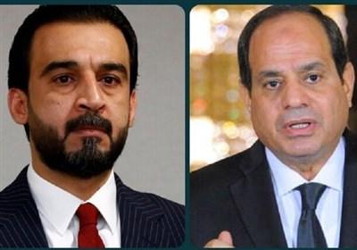 گفتوگوی السیسی و الحلبوسی درباره تقویت روابط عراق و مصر