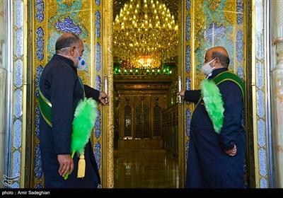 مراسم شکرانه بازگشایی حرم مطهر حضرت شاهچراغ (ع)