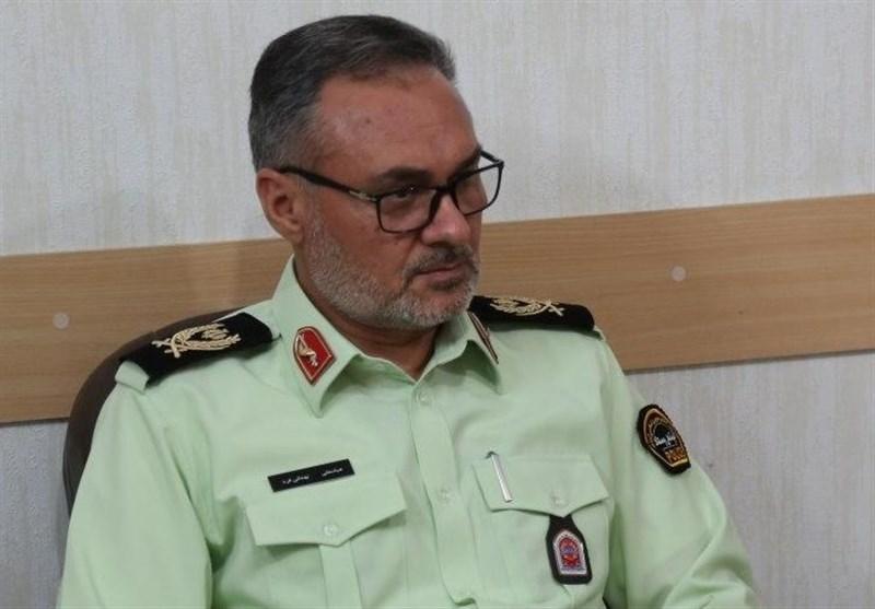 فرمانده انتظامی استان یزد: برخورد با گاردریل و آتشسوزی در اثر استفاده از سیستم احتراق اتباع غیرمجاز را به کام مرگ کشاند/3 نفر کشته و 8 نفر مجروح شدند