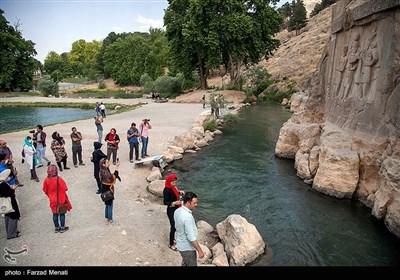 محوطههای تاریخی و مکانهای گردشگری استان کرمانشاه بازگشایی شد + تصاویر