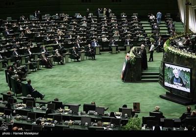 سخنرانی حجتالاسلام حسن روحانی رئیس جمهور در مراسم افتتاحیه یازدهمین دوره مجلس شورای اسلامی
