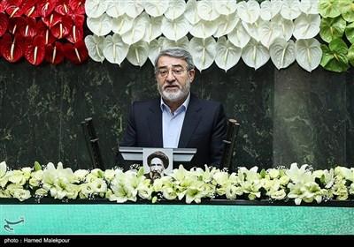 سخنرانی عبدالرضا رحمانی فضلی وزیر کشور در مراسم افتتاحیه یازدهمین دوره مجلس شورای اسلامی