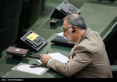 علیرضا زاکانی در مراسم افتتاحیه یازدهمین دوره مجلس شورای اسلامی