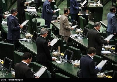 قرائت سوگند نامه توسط منتخبین یازدهمین دوره مجلس شورای اسلامی