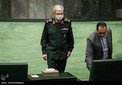 سرلشکر محمد باقری رئیس ستاد کل نیروهای مسلح در مراسم افتتاحیه یازدهمین دوره مجلس شورای اسلامی