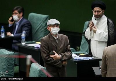 بیژن نوباوه در مراسم افتتاحیه یازدهمین دوره مجلس شورای اسلامی