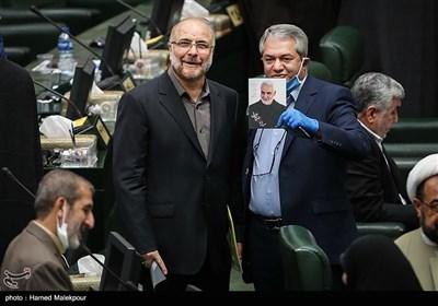 محمدباقر قالیباف در مراسم افتتاحیه یازدهمین دوره مجلس شورای اسلامی