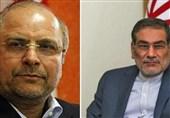 قدردانی شمخانی از حضور رئیس مجلس شورای اسلامی در میان مردم خوزستان