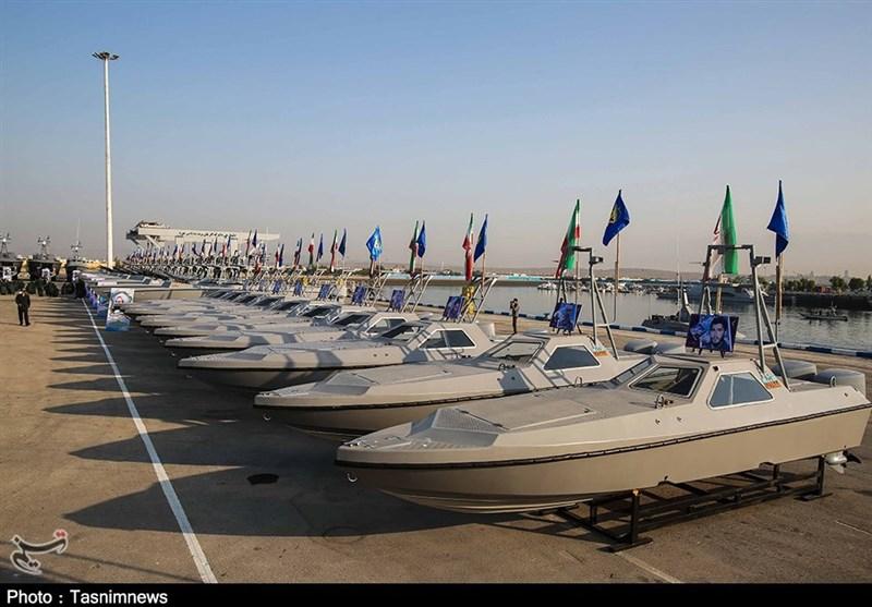 الحاق 112 فروند شناور موشکانداز به ناوگان مدافعان امنیت خلیج فارس + تصاویر