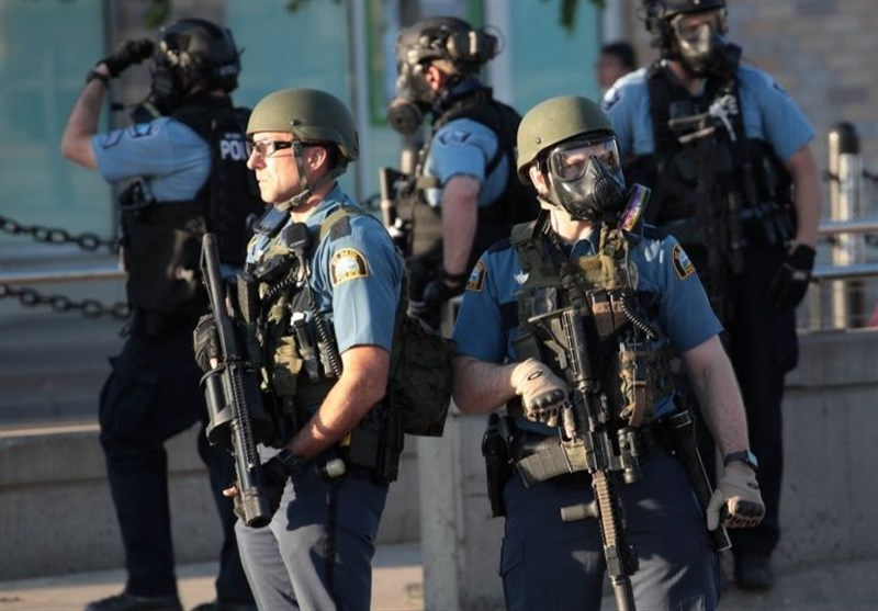 اعزام گارد ملی آمریکا به مینیاپلیس برای مقابله با تظاهرات/ ترامپ دستور تیراندازی داد