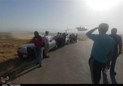 کهگیلویه و بویراحمد| نیروهای امدادی برای مهار آتش سوزی به ارتفاعات خائیز اعزام شدند+تصویر
