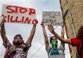 فیلم|سرکوب تظاهرات ضدنژادپرستی نیویورکیها توسط پلیس آمریکا