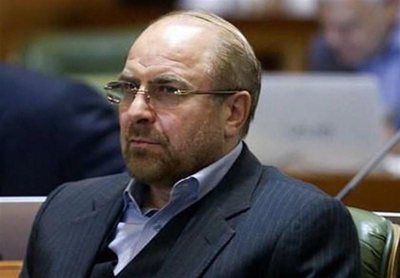 """رئیس البرلمان العراقی لـ""""قالیباف"""": نرغب بتعزیز العلاقات مع ایران"""