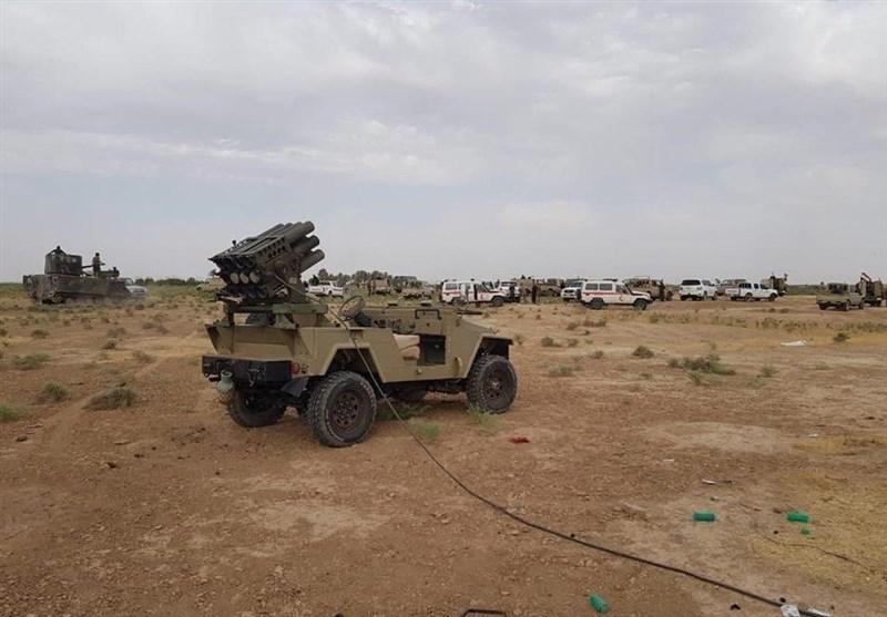"""الحشد الشعبی یتصدى لمحاولة تسلل لـ""""داعش"""" فی ناحیة یثرب جنوب صلاح الدین"""