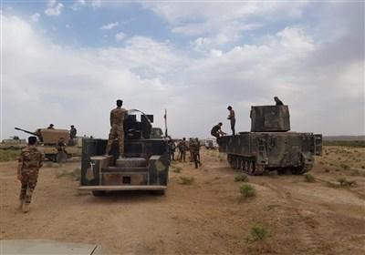 رزمایش الحشد الشعبی در مرز عراق و سوریه/ عملیات نظامی گسترده در کمربند بغداد