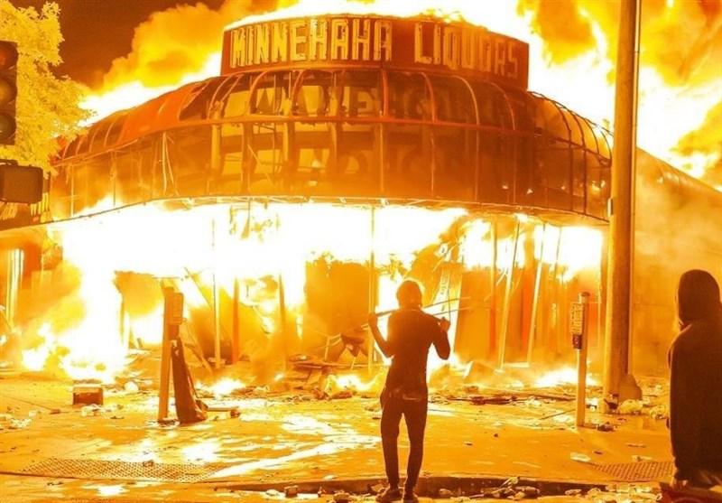 اعلام منع آمدوشد در شهر «مینیاپولیس» آمریکا
