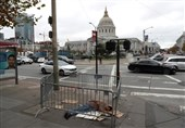 کرونا در آمریکا|افزایش 3 برابری مرگ بیخانمانها در سانفرانسیکو +تصاویر