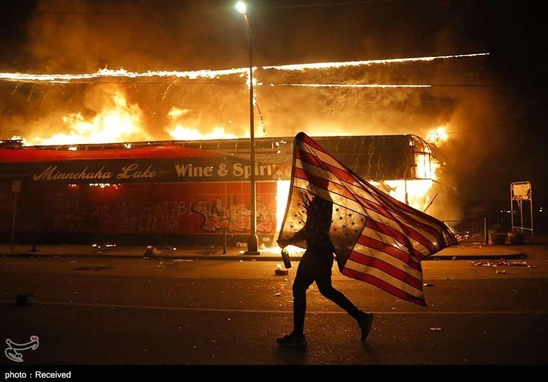 بررسی اجمالی پوشش خبری اعتراضات مردم آمریکا در رسانههای آمریکایی - اروپایی