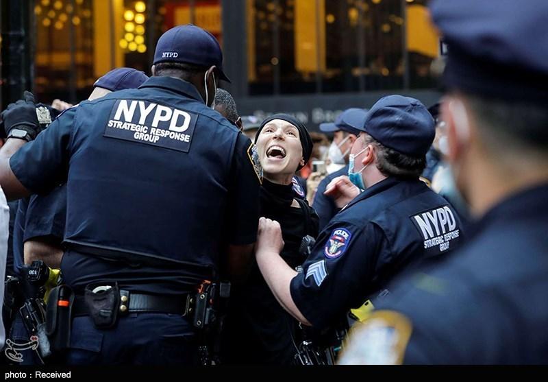 دستگیری بیش از 2500 معترض در ناآرامیهای آمریکا
