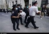 بازداشت 1400 آمریکایی معترض به تبعیضنژادی توسط پلیس در 17 ایالت