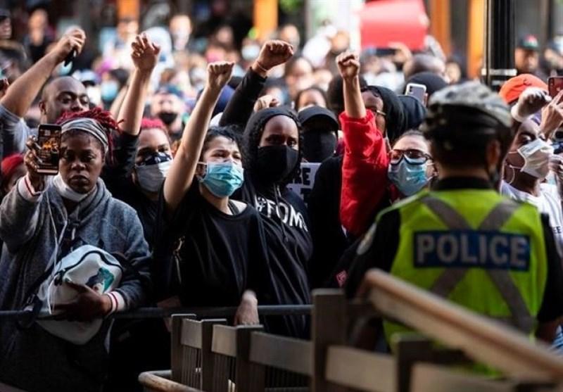 معترضین در سراسر جهان با جورج فلوید اعلام همبستگی کردند