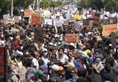 پنجمین شب ناآرامیها| حکومت نظامی در 25 شهر آمریکا/ یک کشته و دهها بازداشتی در اعتراضات