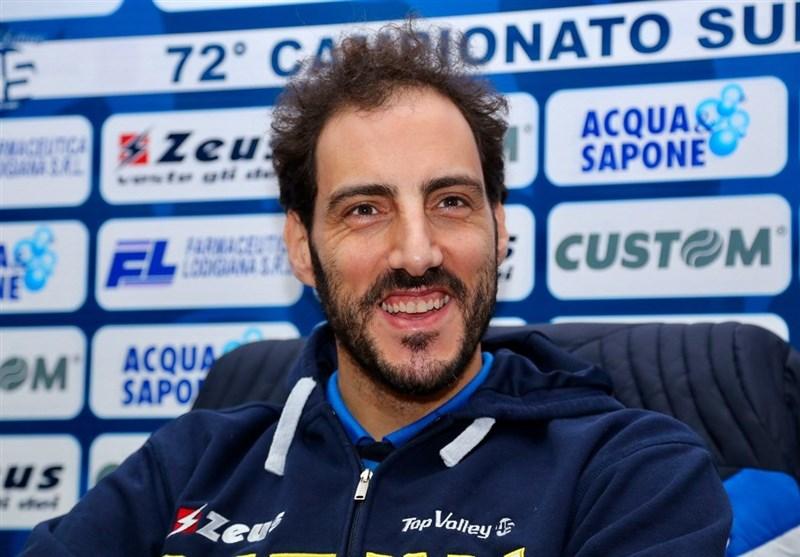 بازنشستگی امتیازآورترین بازیکن تاریخ لیگ والیبال ایتالیا