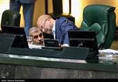 محمدباقر قالیباف رئیس مجلس شورای اسلامی و علی نیکزاد