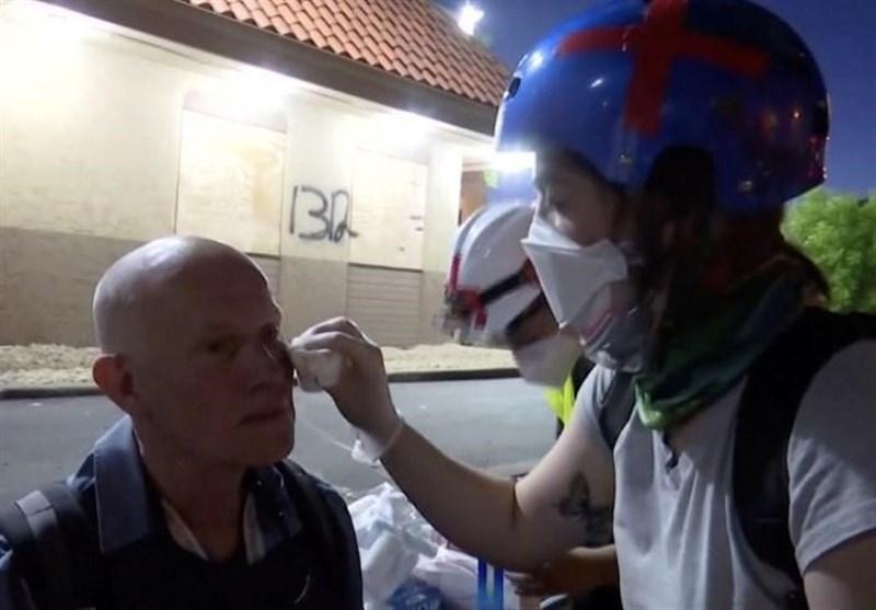برخورد خشونتآمیز پلیس آمریکا با خبرنگاران/ عکاسان رویترز زخمی شدند
