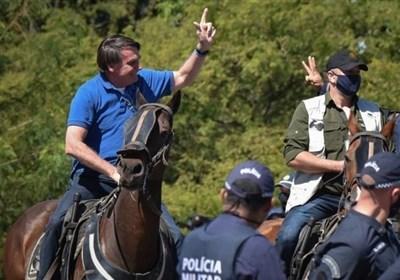 حکم قاضی برزیلی: بولسونارو باید از ماسک استفاده کند