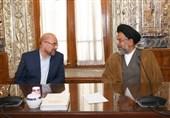 دیدار وزیر اطلاعات با قالیباف