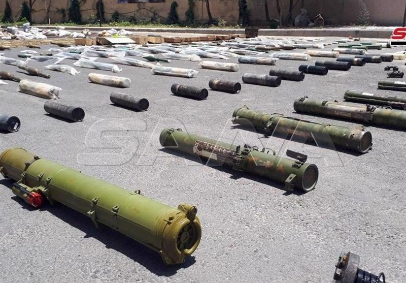 Syria Army Discovers US-Made Weapons in South