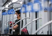 ورود مسافران بدون ماسک به مترو مشهدمقدس ممنوع شد