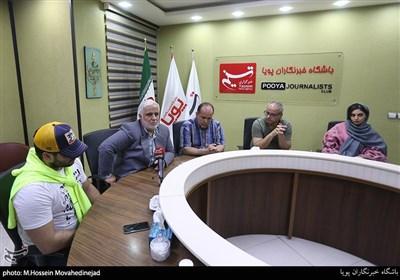 """حضور و تجلیل از عوامل سریال """"بچهمهندس۳"""" در خبرگزاری تسنیم+ عکس"""