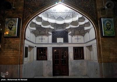 حجره امام خمینی (ره) در مدرسه فیضیه