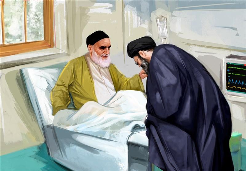 خاطراتی از امام خمینی بهروایت رهبر انقلاب|وصیت امام در لحظات آخر