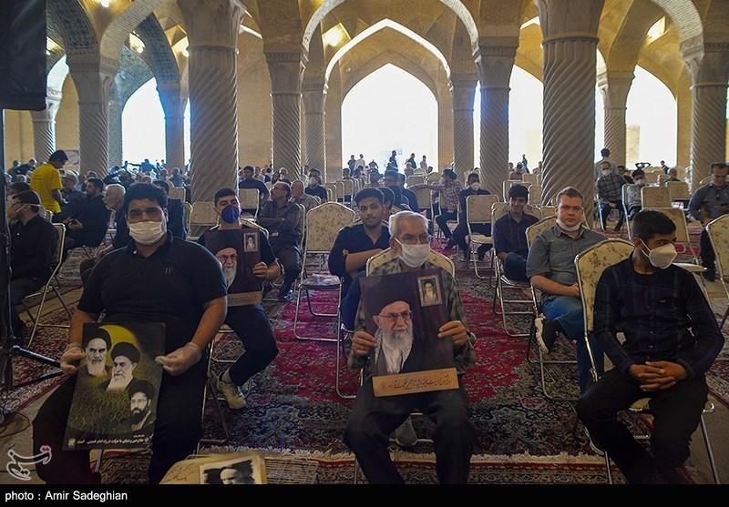 مراسم بزرگداشت سی و یکمین سالگرد ارتحال امام خمینی (ره) -شیراز