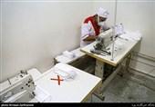 راهاندازی دوباره کارگاههای تولید ماسک در پارسیان/ قرارگاههای تحول محلات آماده ضدعفونی محلات شدند + فیلم