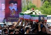 تشییع پیکر جانباز شهید قرقانی در اصفهان به روایت تصاویر