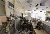 روند کُند مقاومسازی بیمارستان تخریب شده اسلام آباد غرب در زلزله کرمانشاه