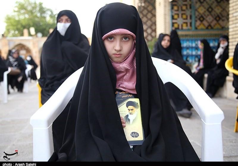 مراسم گرامیداشت قیام خونین 15 خرداد در قزوین به روایت تصویر