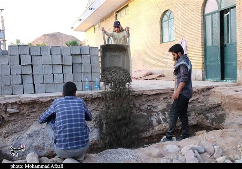 سیل , تعزیه , هیئت , استان کرمان , ویروس کرونا ,